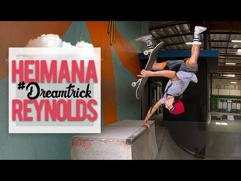 #1 World Ranked Heimana Reynolds's #DreamTrick