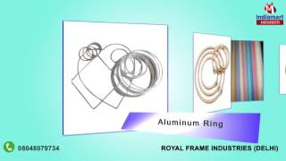 Curtain Rings and Embroidery Mirrors By Royal Frame Industries, Delhi