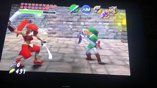Let's Play The Legend Of Zelda Ocarina Of Time Part 53: Rescuing Carpenters