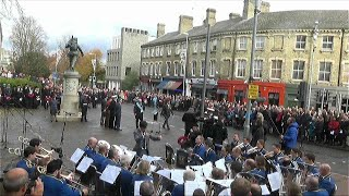 Remembrance Sunday 2018 from Cambridge War Memorial