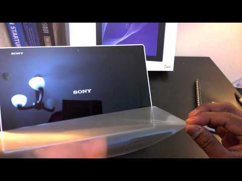 Sony Xperia Z2 Tablet Unboxing