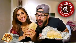 BEST THING AT CHIPOTLE!   CHEAT MEAL SECRET MENU QUESARITO