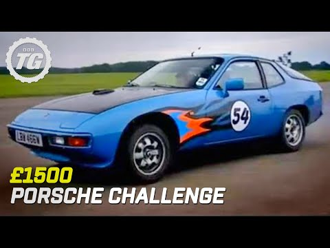 BBC: 1500 Porsche Challenge - Top Gear Video