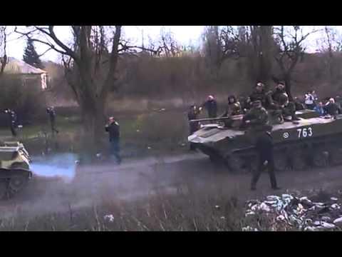 Ukrainian army moves to Donetsk