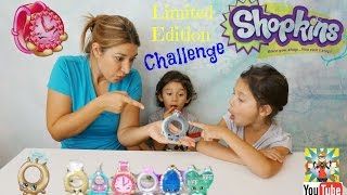 Shopkins Limited Edition Challenge - How would you react?