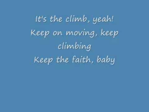 Miley Cyrus - The Climb Lyrics