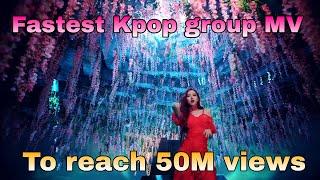 《TOP 10》FASTEST KPOP GROUP MV'S TO REACH 50 MILLION VIEWS