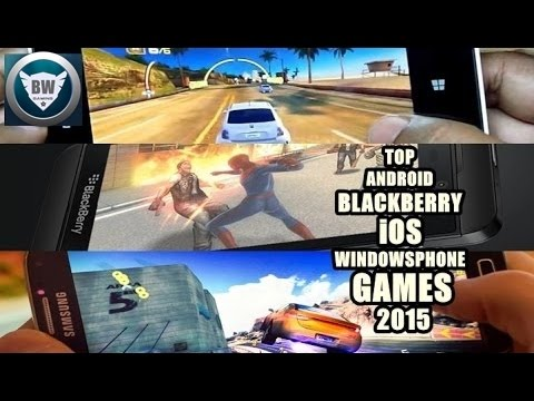 TOP 5 ANDROID/ iOS/ WINDOWSPHONE/ BLACKBERRY GAMES 2015