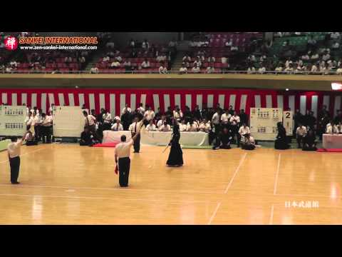 Kendo「剣道」-  Amazing Ippon – MEN and flying Shinai [VID:20130906002]