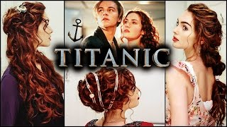 """Rose from """"Titanic"""" Hairstyles   Elegant Curls & Updo"""