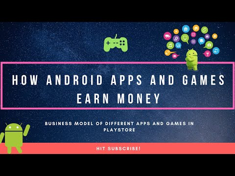 How Android Apps & Games Earn money | Business model of Apps and Games in your phone