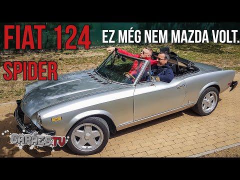 Ez még nem Mazda volt. Fiat 124 Spider (Garázs ep.752)