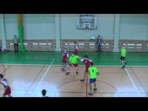 Piłka Ręczna Gimnazjów ZS2 Vs ZS3, 11:9, Piła 2014-12-13