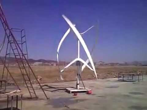 Urban Green Energy 4 kW -Vertical Axis Wind Turbine