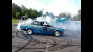 VI. Baráti BMW találkozó Bogács ! gumi égetés ! IMI team és BMWPower_miskolc (Tomy)