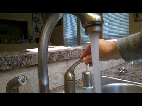 How to fix a leaky bathroom sink faucet
