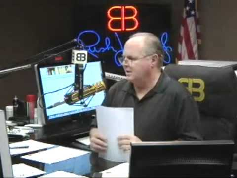 Rush Limbaugh - Liberal Caller Can't Give an Example of Hate or Vitriol From Limbaugh