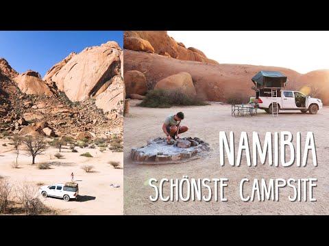 An der Campsite Spitzkoppe • Namibia • Weltreise Vlog #142