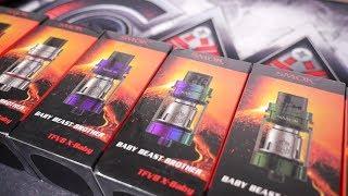Smok TFV8 X-Baby Beast Tank Review + 6 Tank Giveaway! Top Airflow Good?
