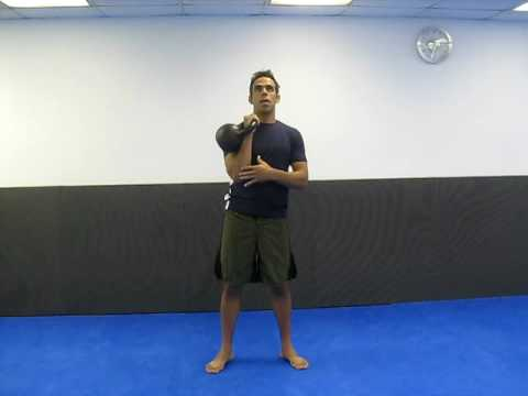 perfect russian kettlebell push press technique Image 1