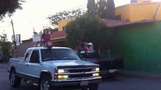 Concursantes nuestra belleza Zacatecas en san Pedro piedra