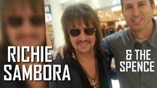 Mark Bumps into 'Bon Jovi' Man