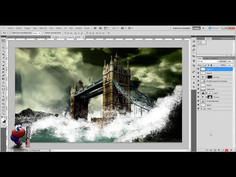 Photoshop: Wallpaper Tormenta en el Tamesis