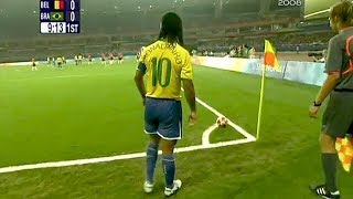 Bu 6 Şeyi Kimse Ronaldinho'dan Daha İyi Yapamaz.!