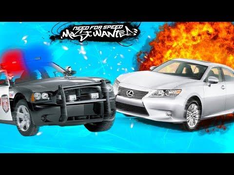 #3 Крутые Тачки полицейская погоня в видео про машинки супер игре Need for Speed Most Wanted #FGTV