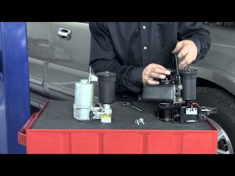 How to Replace a Lincoln Navigator (Ford Expedition) Air Suspension Compressor