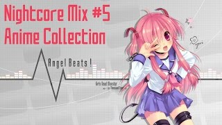 [Nightcore Mix] - #5 ☆ Anime Collection ☆ (1 Hour)