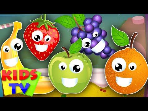 five little fruits | learn fruits | fruits song | kids songs | nursery rhymes kids TV