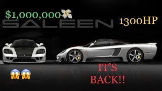2020 Saleen S7 Twin Turbo: Return of America's True Supercar!! 1300HP!! Vlog