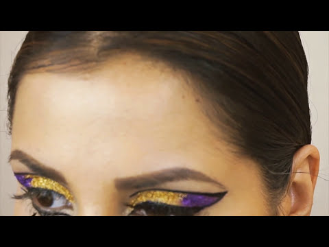 Maquillaje Katy Perry estilo Cleopatra