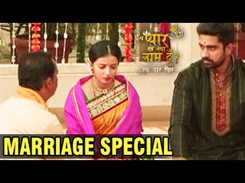 Astha & Shlok's MARRIAGE SPECIAL in Iss Pyaar Ko Kya Naam Doon Ek Baar Phir 23rd April 2014 EPISODE