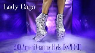 Lady Gaga's 2010 ARMANI Heels (Inspired) - Carlos Valles