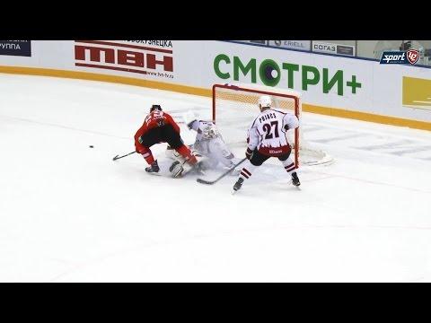 «Металлург» (Новокузнецк) 6:3 «Динамо» (Рига)