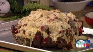 Corned Beef Sauerkraut Pull Apart Bread
