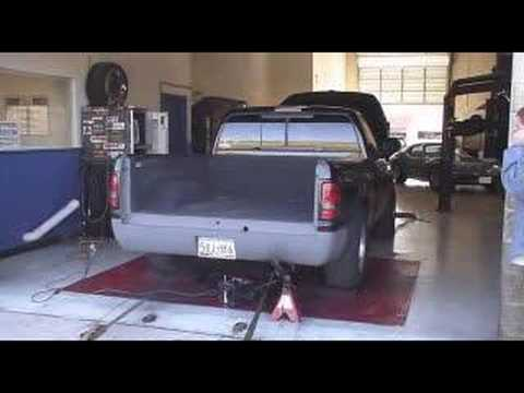 2000 Dodge Ram 1500 5.9L Dyno Run