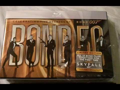 Bond 50: Complete 23 James Bond Films Collection (1962-2012) - Blu Ray Review And Unboxing video