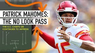 Patrick Mahomes is Unreal - The No-Look Pass is on Another Level