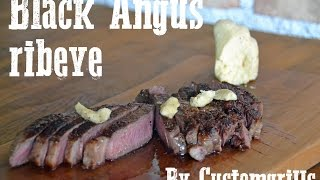 Black Angus Ribeye with homemade chilli butter by Customgrills