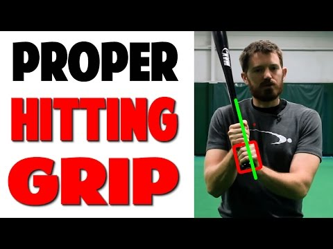 Click For FREE Video: http://www.prospeedbaseball.com/proper-arm-position-baseball-power-hitting-series/ Proper Baseball Hitting Grip | (Pro Speed Baseball) This is a quick reference video...