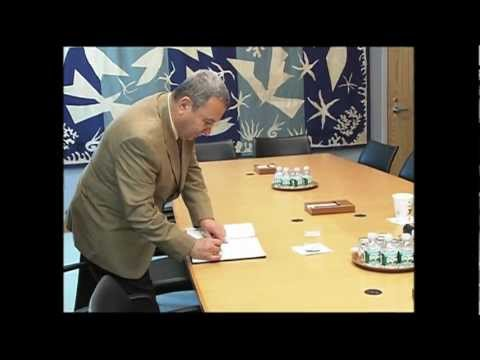 ASIATV14Net: MIDDLE EAST PEACE: TALKS by UN's BAN KI-MOON & ISRAEL'S EHUD BARAK (UNTV)