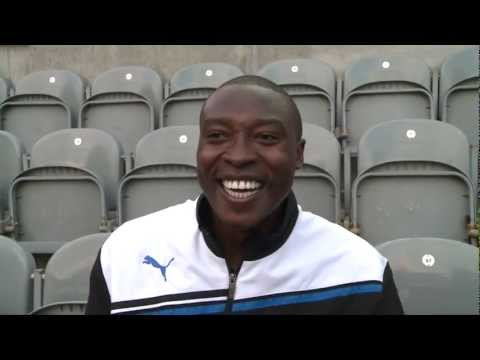 Shola Ameobi Supports Wembley To Soweto