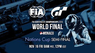 English Fia Gt Championship 2018 Nations Cup World Finals Semifinal