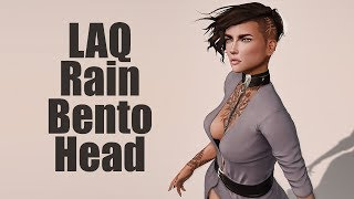 LAQ Rain Bento Mesh Head in Second Life