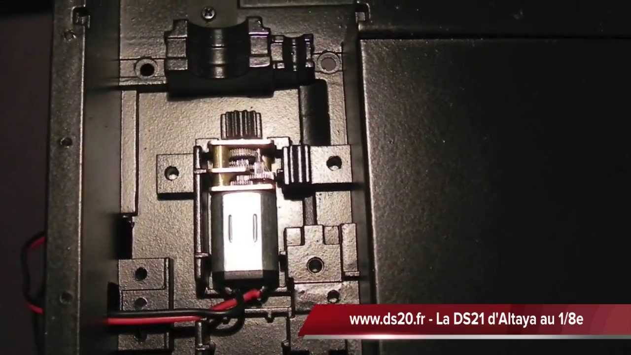 Ds 21 altaya montage n 31 youtube for Altaya ds 21