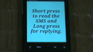 SMS for those both deaf and blind
