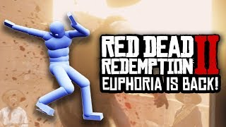 Red Dead Redemption 2 - EUPHORIA PHYSICS IS BACK AND... ITS AWESOME!